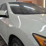 Ремонт крыла и переднего бампера Хонда Аккорд