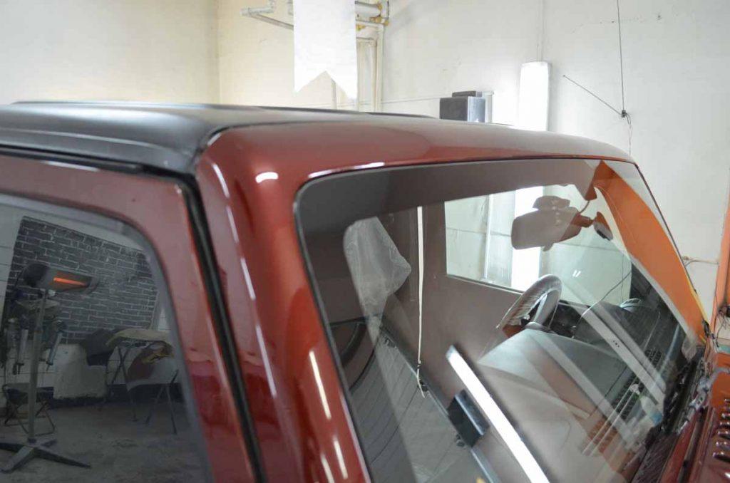 Замена лобового стекла WRANGLER rubicon