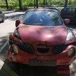 Кузовной ремонт Ниссан Жук - перевёртыш
