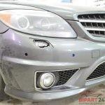 Покраска переднего бампера Мерседес AMG в BIPART24