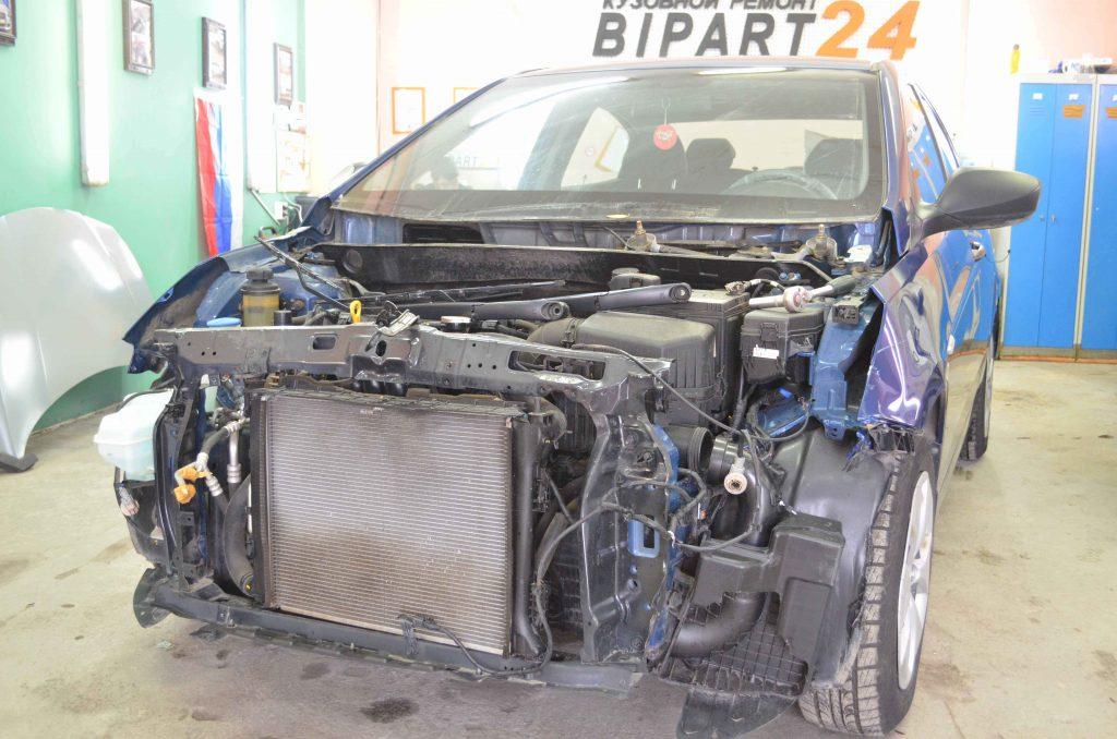 Кузовной ремонт Хендай Солярис