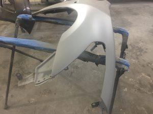ремонт переднего крыла Инфинити Q50
