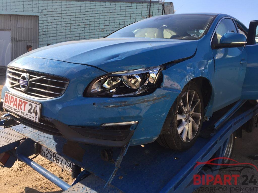 кузовной ремонт Вольво S60