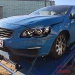 Кузовной ремонт Вольво S60. Передняя часть.
